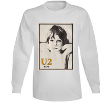 Load image into Gallery viewer, Boy U2 Band Long Sleeve T Shirt