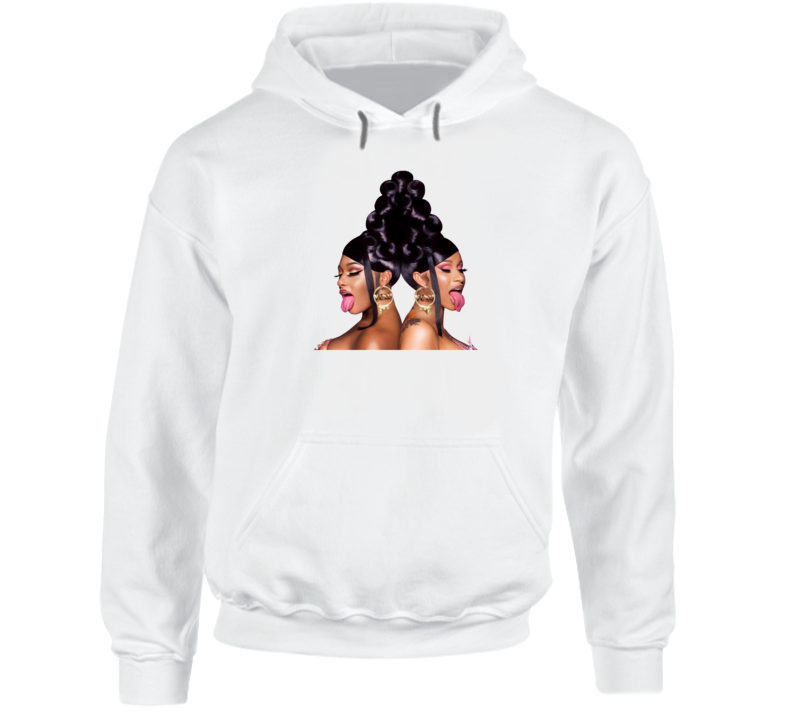 Cardi B And Megan Thee Stallion's Hoodie