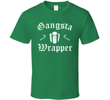 Load image into Gallery viewer, Gangsta Wrapper Christmas Funny T Shirt