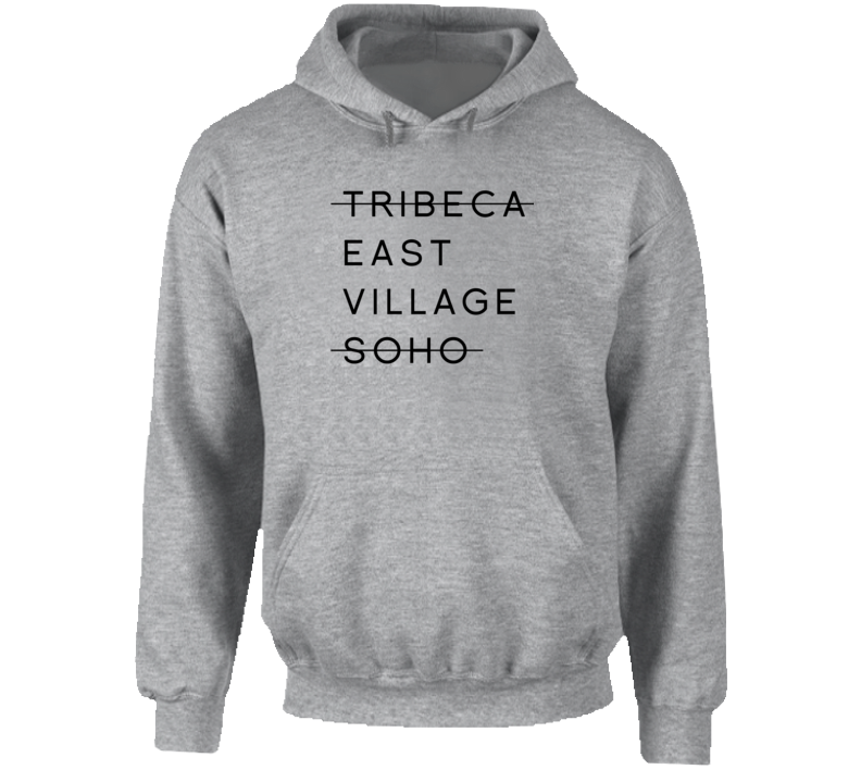 Tribeca East Village Soho Sport Grey Hoodie
