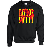 Load image into Gallery viewer, Taylor Swift Band Metal Words Long Sleeve T Shirt