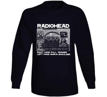 Load image into Gallery viewer, Everything In It's Right Place Radiohead Black Crewneck Sweatshirt