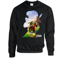 Load image into Gallery viewer, Nintendo Zelda Link Epona Ride T Shirt