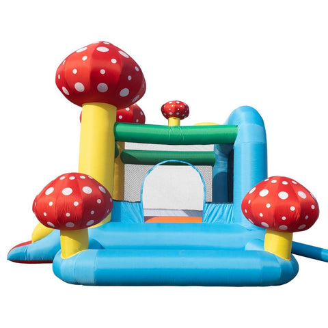 Image of Inflatable Jumping Castle with Pool and Slide, includes Air Blower