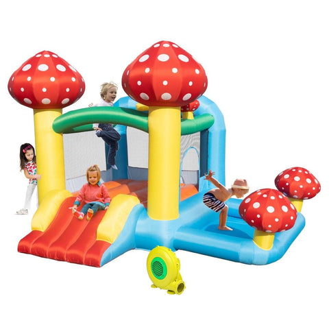 Inflatable Jumping Castle with Pool and Slide, includes Air Blower