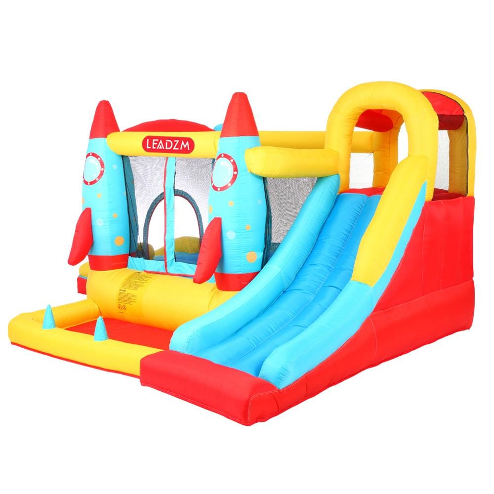 LEADZM Rocket Inflatable Castle