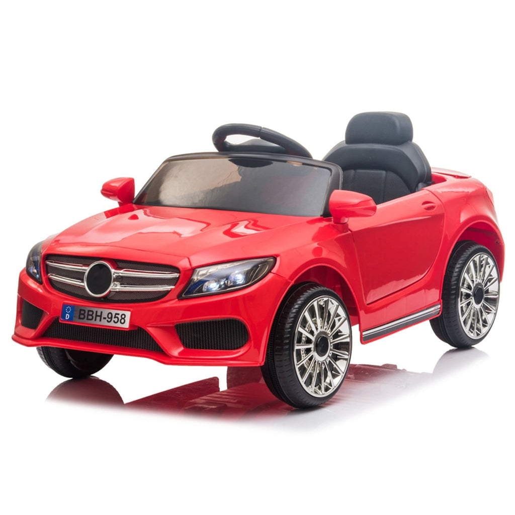 Red 12V Kids Ride On Car 2.4GHZ Remote Control