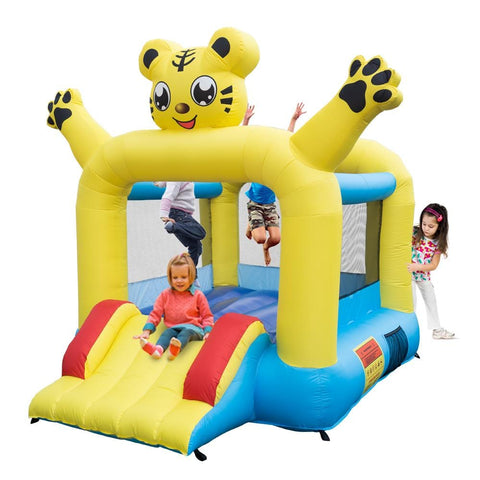 Inflatable Jumping Castle with Slide -includes Air Blower