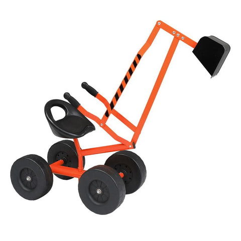 Image of Kids Sand Digger Ride On With Wheels And 360°Rotatable Seat