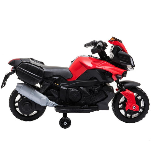 Image of Kids Electric Motorcycle Ride-On Toy 6V Battery Powered w/ Music
