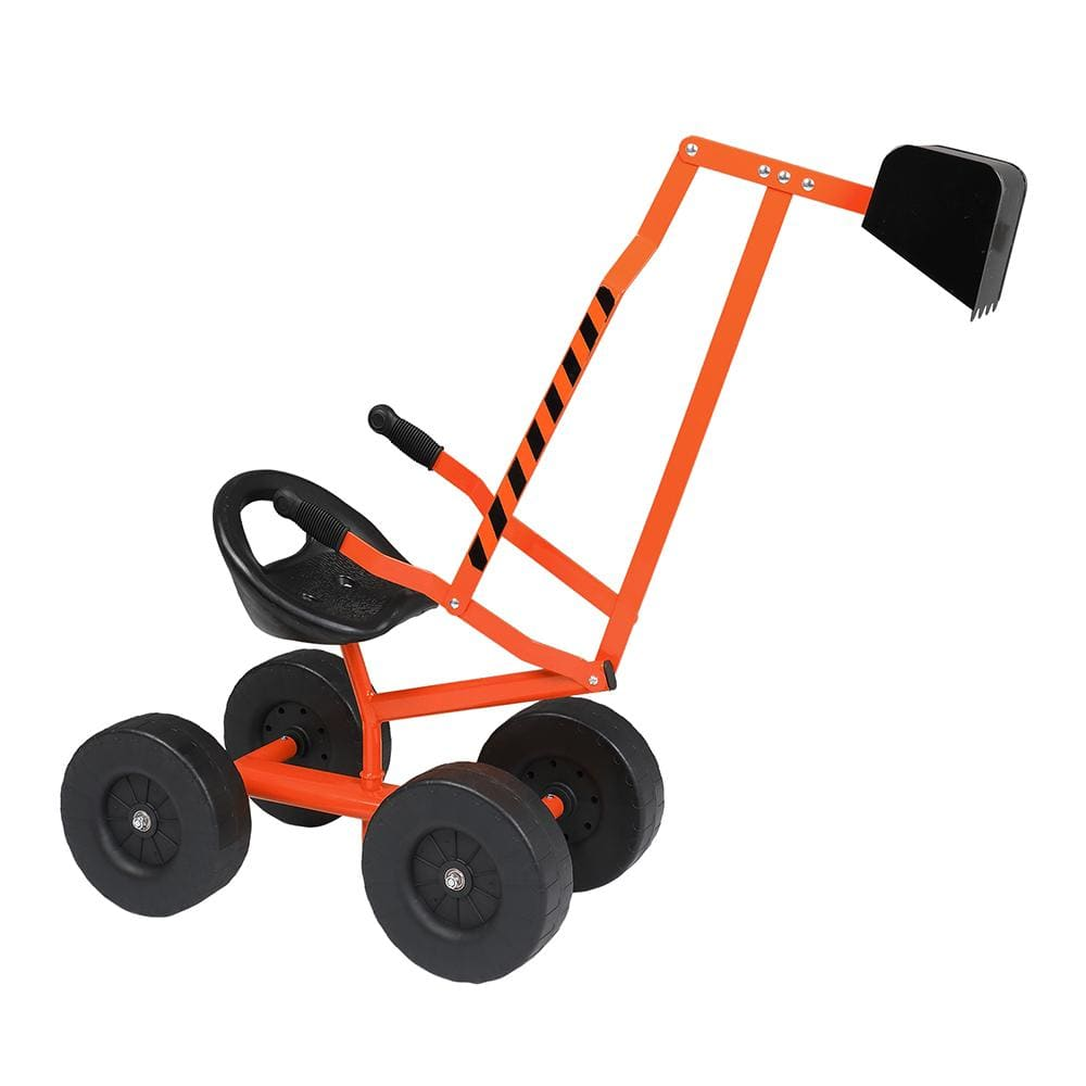 Kids Sand Digger Ride On With Wheels And 360°Rotatable Seat