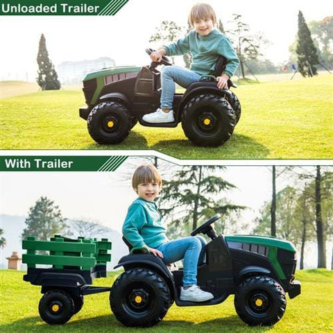 Image of LZ-925 Agricultural Vehicle Battery 12V7AH * 1 Without Remote Control with Rear Bucket