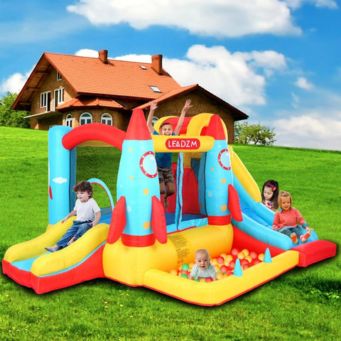 Image of LEADZM Rocket Inflatable Castle