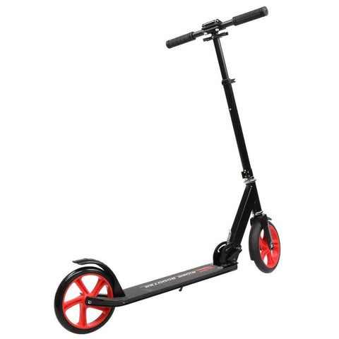 Image of Foldable Teen Scooter Black Red