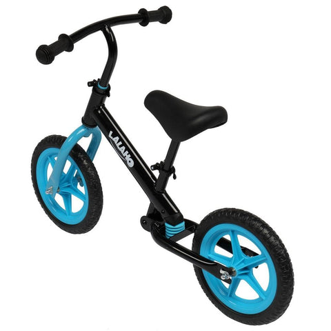 Kids Balance Bike Height Adjustable Blue/Pink/Green or Yellow