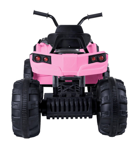 Image of ATV Double Drive Children Car with Battery-Pink