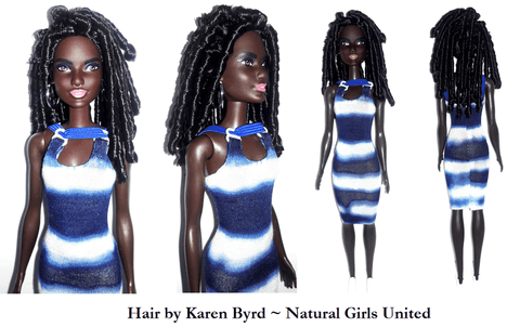 Spiral Curls Doll by Natural Girls United
