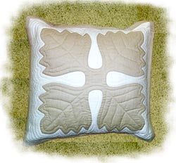 Ulu Leaf Finished Pillow