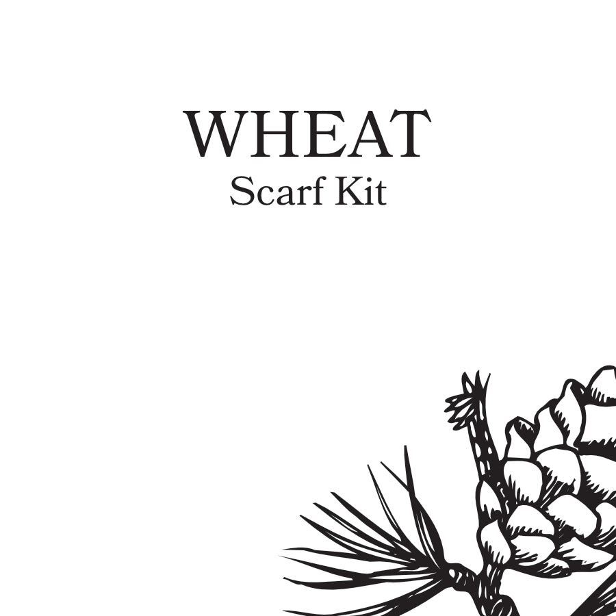 Wheat Scarf Kit