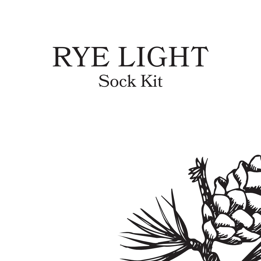 Rye Light Sock Kit