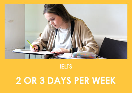IELTS: Online Lessons - Part-Time - 2 or 3 days per week