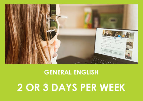 General English - 2 or 3 days per week
