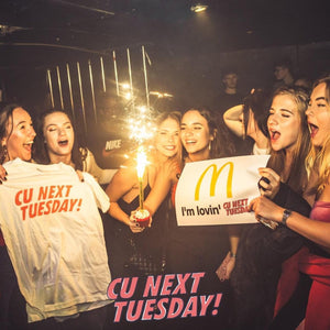 midweek clubbing party dancing birthday celebration student nightlife brighton tuesdays at the arch
