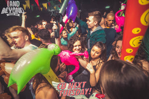 harry styles brighton club event meet and greet appreciation party students inflatables clubbing