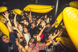 inflatables partying clubbing students tuesday nights cheap free