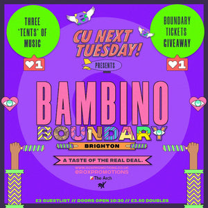 CU Next Tuesday • Bambino Boundary • 29/06/2021