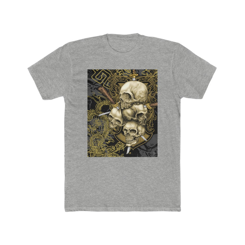 Skull Daggers /Men's Cotton Crew Tee