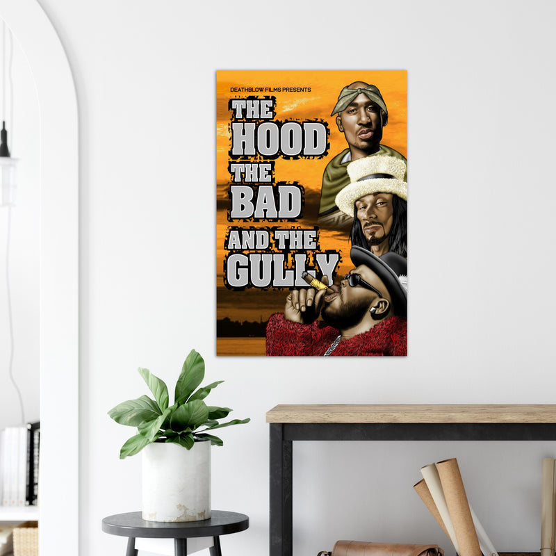 Hood, Bad & the Gully /2006   Premium Matte Paper Poster