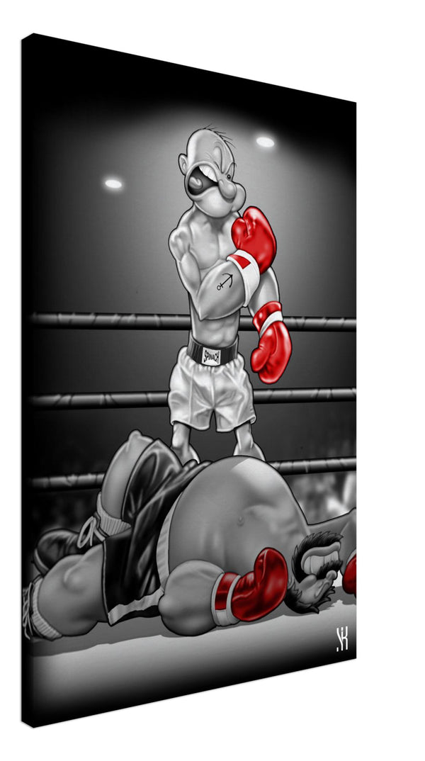 Knockout  /2009  Canvas