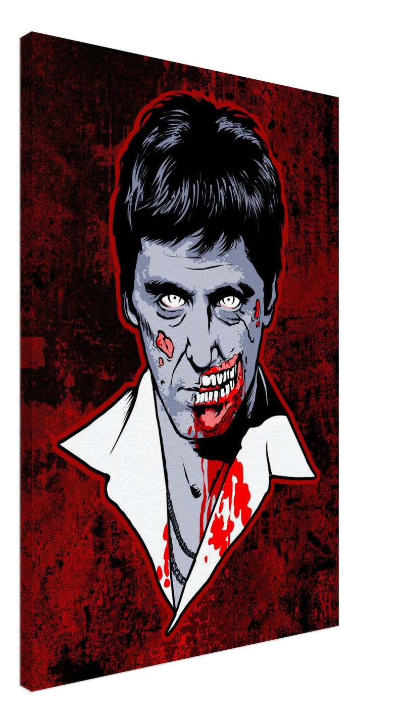 Bad Guy Zombie /2014 Canvas