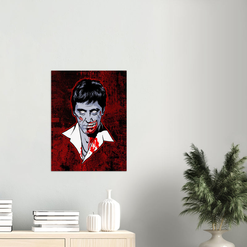 Bad Guy Zombie /2014  Premium Matte Paper Poster