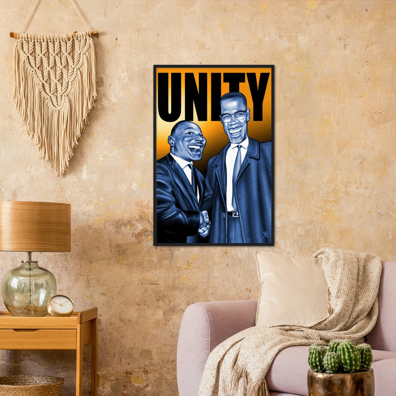 Unity /2007  Classic Matte Paper Wooden Framed Poster