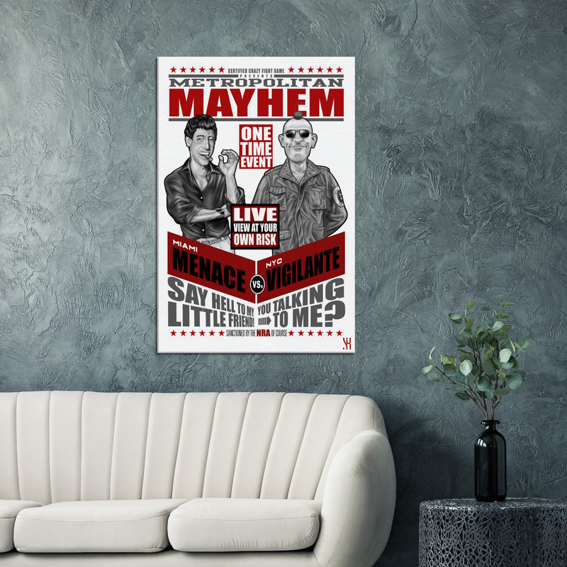 Metro Mayhem /2014 Canvas