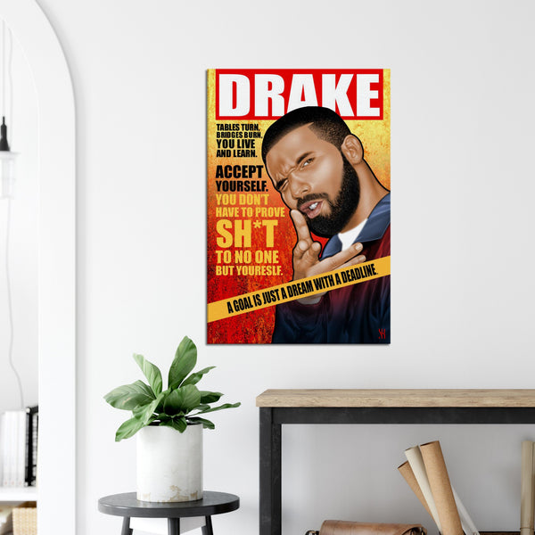 Drake Magazine /2021  Canvas