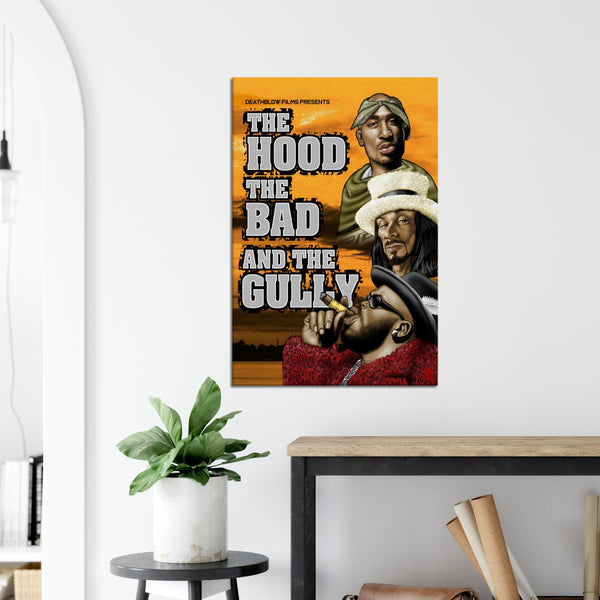 Hood, Bad & the Gully /2006  Canvas