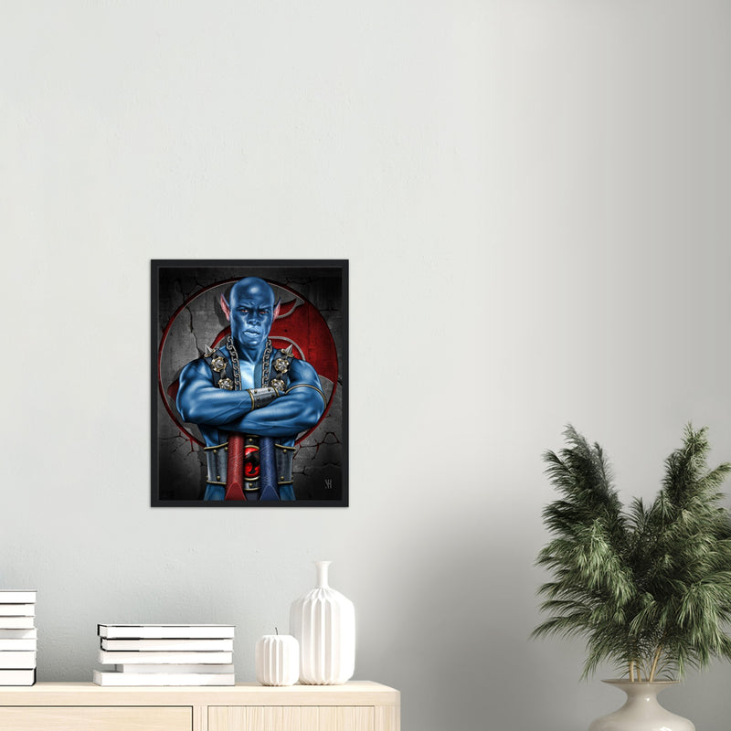 Panthro /2018 Classic Matte Paper Wooden Framed Poster