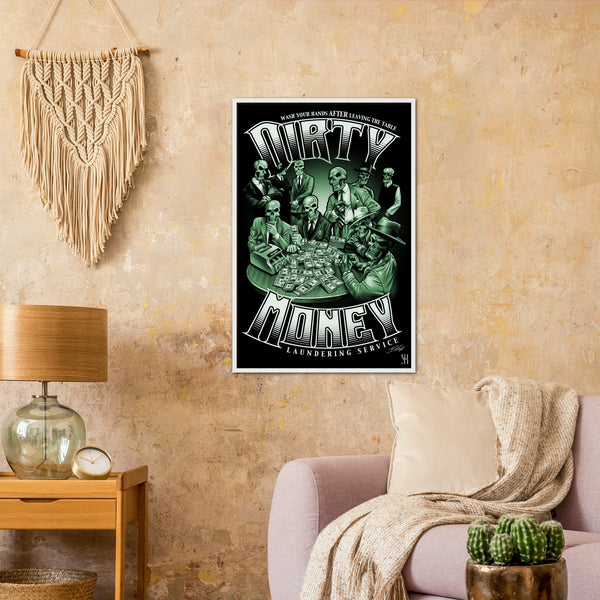 Dirty Money /2006  Classic Matte Paper Wooden Framed Poster