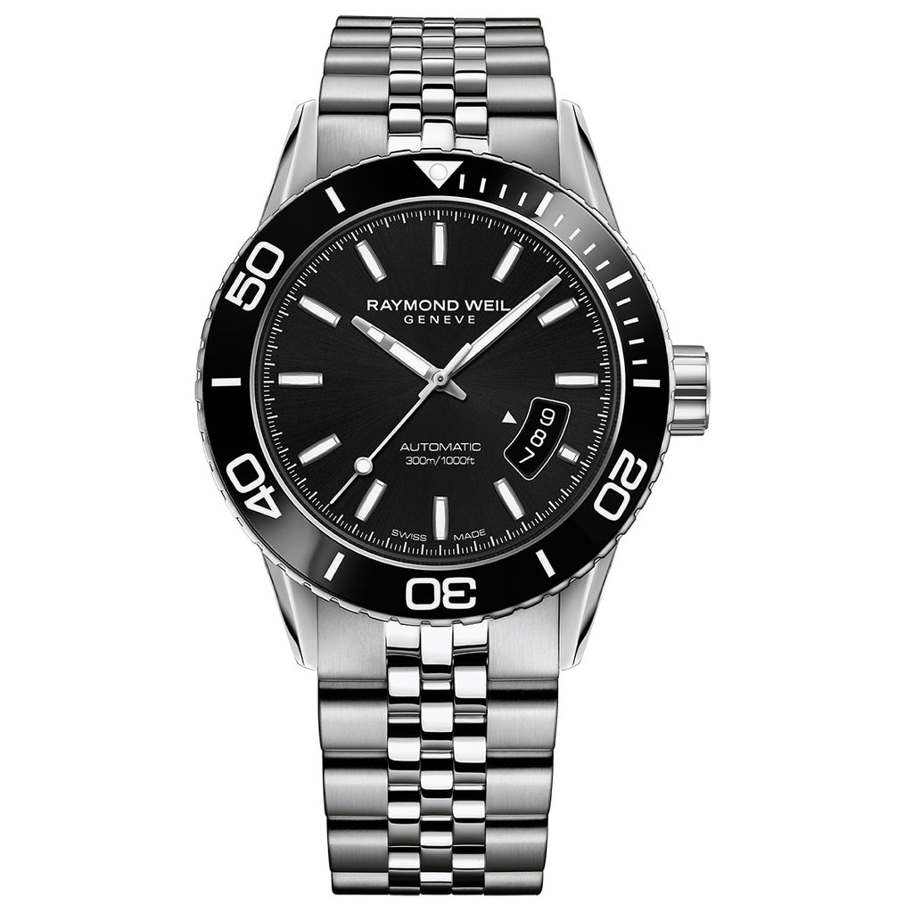 Raymond Weil - Freelancer Men's Automatic Diver Watch 42 mm2760-ST1-20001