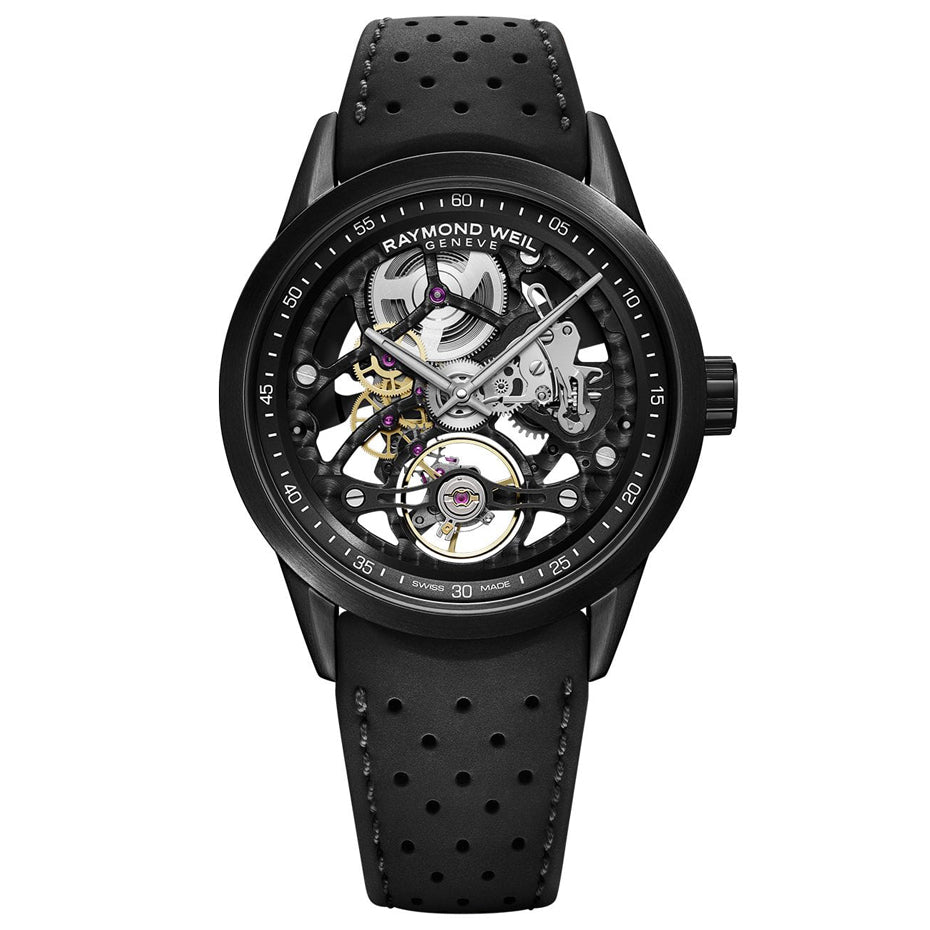 Raymond Weil The Freelancer RW1212 Skeleton Watch 42 mm