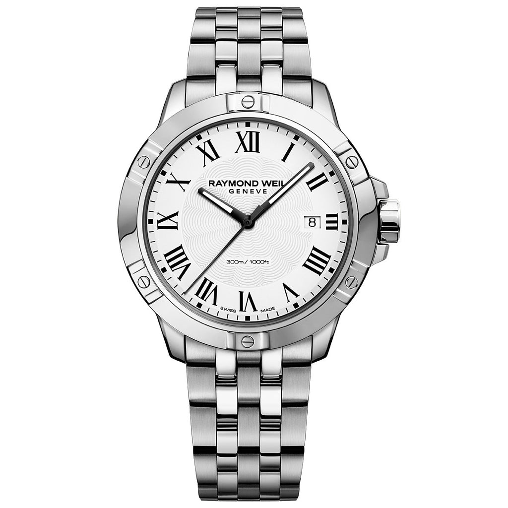 Raymond Weil - Tango Classic Men's Stainless Steel White Dial Watch - 8160-ST-00300