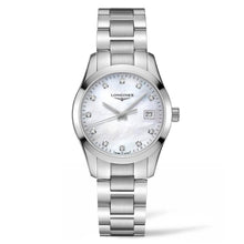 Load image into Gallery viewer, Longines Conquest Classic - Silver MOP Diamond Dial Lady's watch 32mm