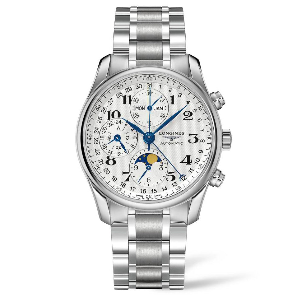 Longines Master Collection - Automatic Chronograph - Silver Dial 40mm