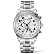 Load image into Gallery viewer, Longines Master Collection - Automatic Chronograph - Silver Dial 42mm Steel Bracelet