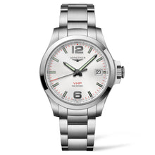 Load image into Gallery viewer, Longines Conquest V.H.P. - Automatic - Silver Dial Men's Watch 41mm