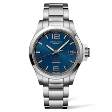 Load image into Gallery viewer, Longines Conquest V.H.P. - Automatic - Blue Dial Men's Watch 41mm