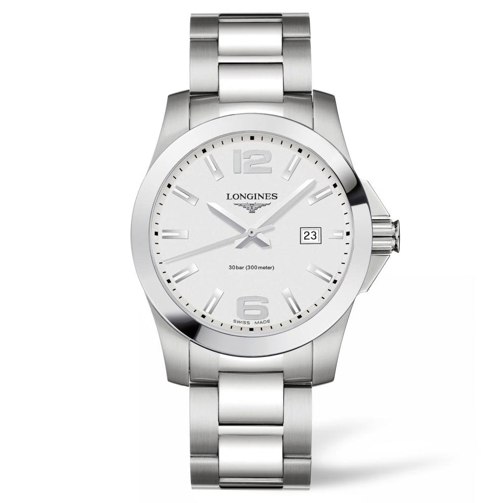 Longines Conquest - Automatic - Silver Dial Men's Watch 41mm